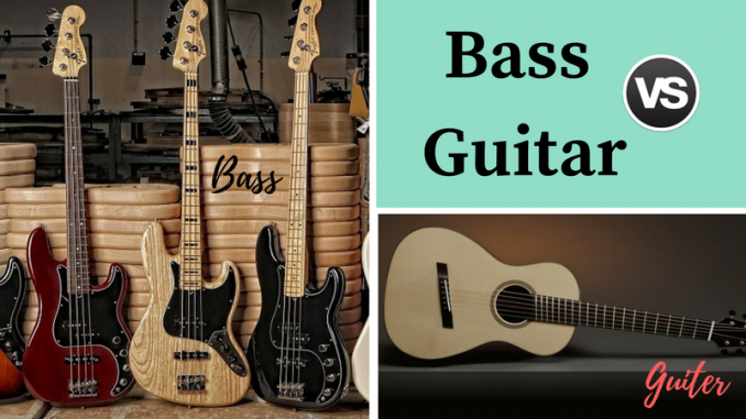 Bass vs Guitar
