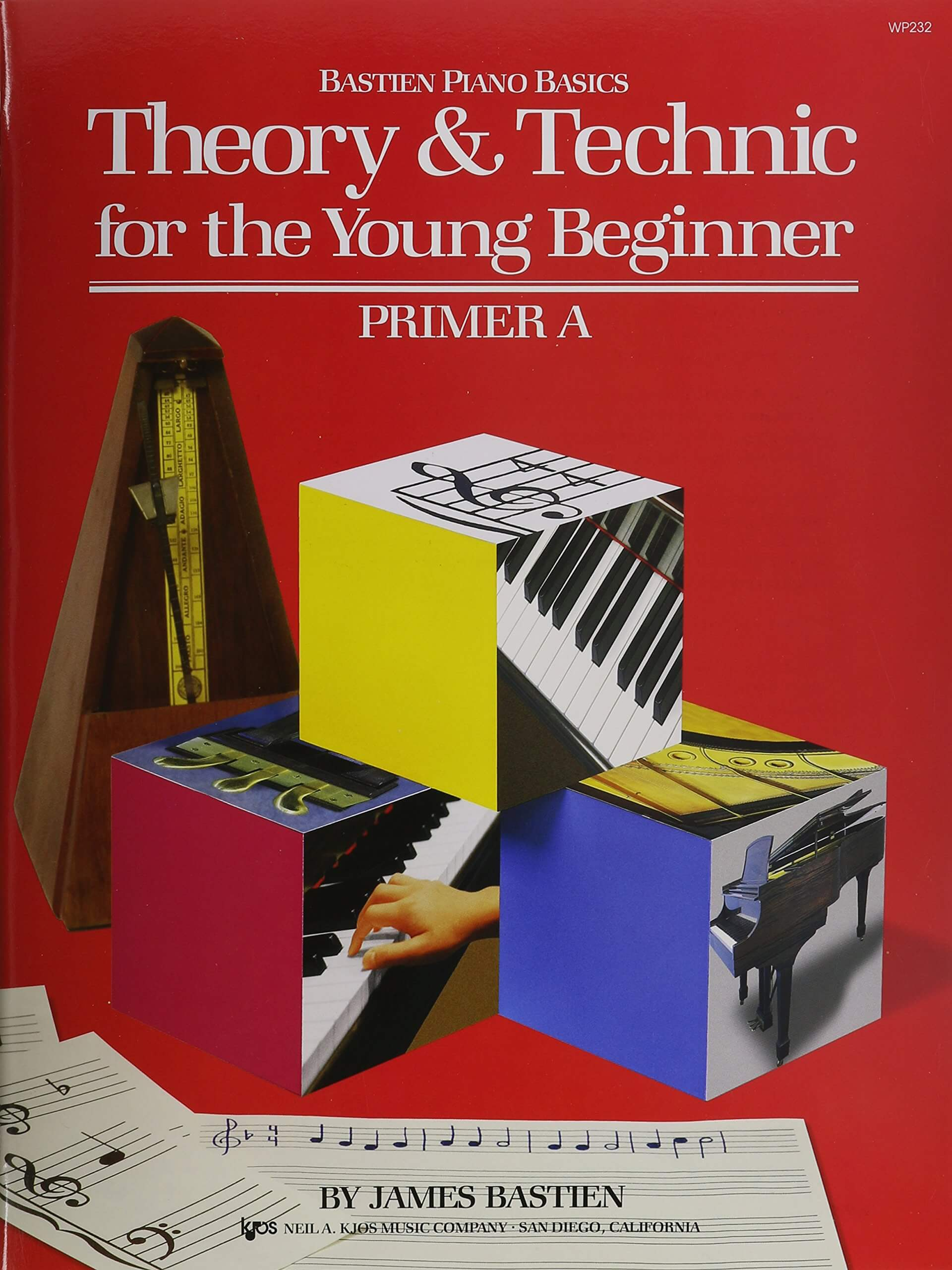 WP232 – Theory & Technic for the Young Beginner