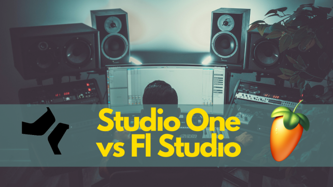Studio One vs Fl Studio